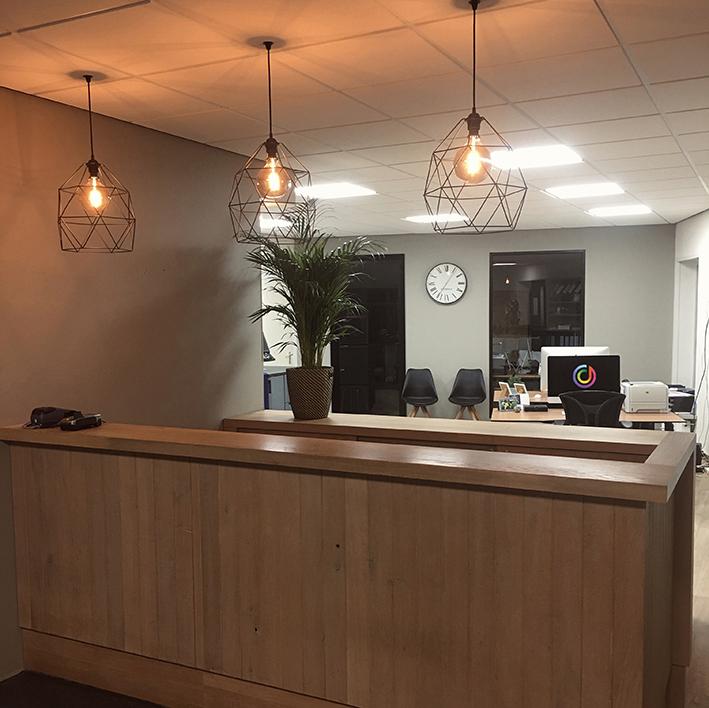 Ons nieuwe kantoor