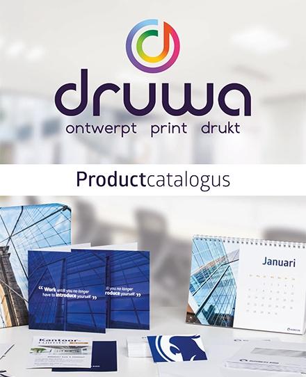 logo promotiemateriaal Drukkerij Druwa